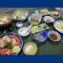 豪華コースお料理一例(冬)