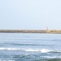 *中央海水浴場周辺