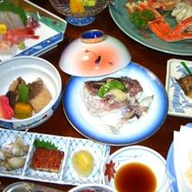 *夕食一例<お料理豪華コース>