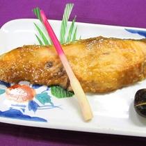 *鮭のゆず味噌田楽
