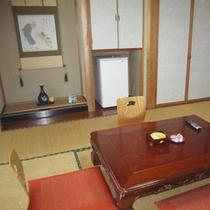 新館和室8畳(バストイレ付)一例