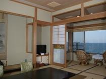 汐路/海側10帖タイプの和室です