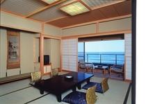 夕凪/バルコニー展望風呂付12.5+6帖角部屋和室です