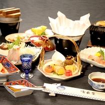 *料理一例/季節の旬の味覚をお愉しみ頂けます。