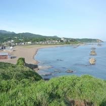 *鯨波海岸が目の前/広がる日本海で心を解放!
