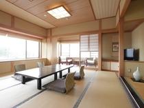 潮騒/バルコニー展望風呂付12.5帖角部屋の和室です