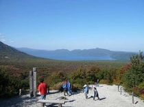 樽前山からの景色
