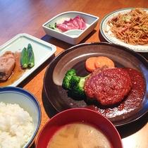 【夕食一例】日替わり定食