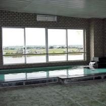 「大浴場」天然ミネラル鉱石を利用したあやめの湯