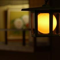 個室料亭 花筏 灯り