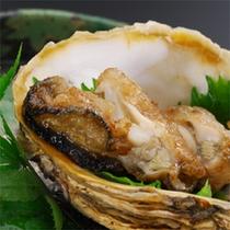 岩牡蠣のバター焼き