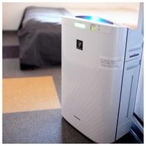 SHARP製プラズマクラスター加湿器付空気清浄機をご用意しております♪