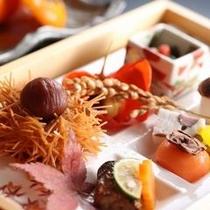 【夕膳/会席】季節の食材を盛り込んだ会席膳※イメージ