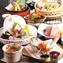【夕膳/お祝い膳】ご家族の記念日にふさわしい旬味会席をご用意いたします。※イメージ