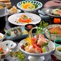 気仙沼の海の幸♪海鮮御膳(プラン料理一例)