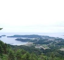 大島 亀山より