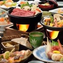 秋の味覚会席 料理イメージ
