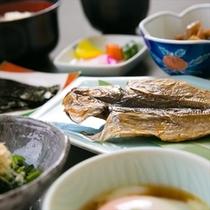 ご朝食-和食-新鮮な食材をつかった体に優しい和朝食♪