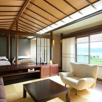 ◇【夕雅yuuga】最上階・特別室 部屋の様子/展望風呂付き。お部屋の様子