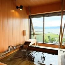 ◇【夕雅yuuga】最上階特別室/展望風呂の様子