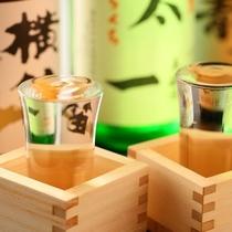 ■【お飲み物】諏訪の地酒ご用意しております。グラス500円
