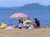 夏、猪苗代湖