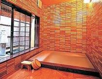 内湯浴場は、オゾン03気泡噴射装置付です。