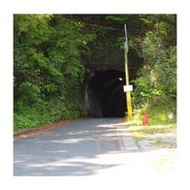 トンネルを超えて右に