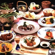 レディースプラン料理一例