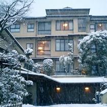 【日長庵桂月】雪景色