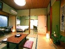 【客室】和室8畳+ベッド3