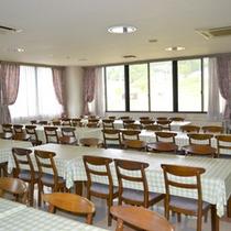 *【食堂】夕食朝食はこちらの食堂でお召し上がり下さい。