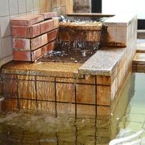 *【女性大浴場】泉質は、アルカリ性単純泉。疲労回復や関節痛に効果がございます。