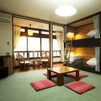 客室10畳ベッド+4(イメージ)