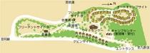キャンプ村(配置図)