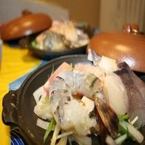 海鮮陶板焼