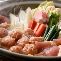 【夕食】きじ鍋