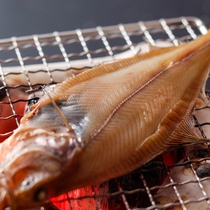 朝食(焼き魚)