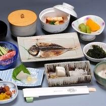朝食セットメニュー(和食時)