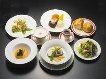 洋食フルコース料理
