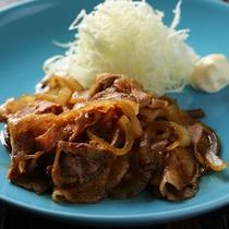 人気メニュー豚の生姜焼き(ランチ)