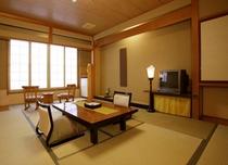 明るいモダンな和風客室 一例