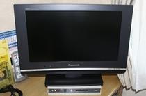 液晶20型TV・ツインルームは26型です。