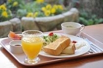ご朝食例【洋食】です♪