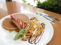 New☆【ホットケーキ】です♪【ファミリープラン】ご利用で、お子様にサービスでご提供させて頂きます♪
