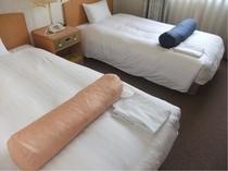 ツインルーム限定★足枕★です♪