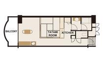 タイプA2/和洋室(40平米)