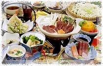 夕食のお料理(一例)