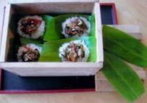 郷土食の笹寿司