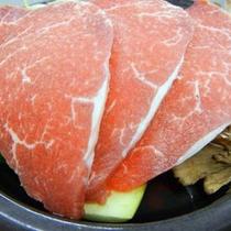 長崎牛の陶板焼き